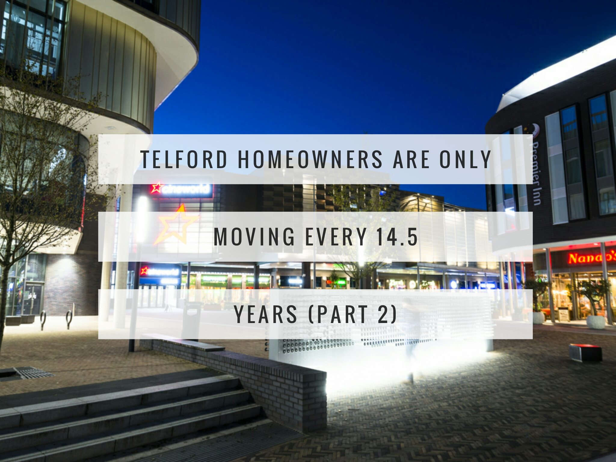 Telford Homeowners Are Only Moving Every 14.5 Years (Part 2)